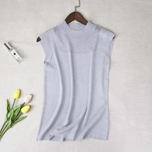 Summer Top Women New Tank Tops Camisole Women Knitted Sexy Vest Top Sleeveless Casual Hollow Out Elasticity Solid Slim Pullover(China)