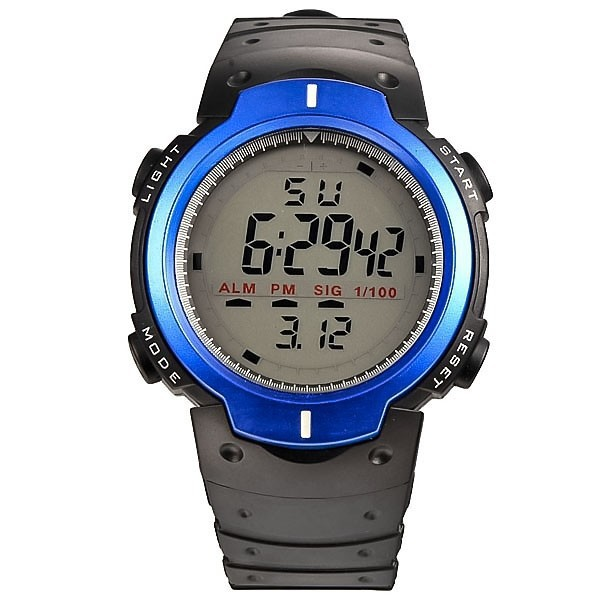 New Brand Digital LED Watches Men Fashion Sports Watche's 30m waterproof silicone band watch men relojes montre homme watched(China (Mainland))