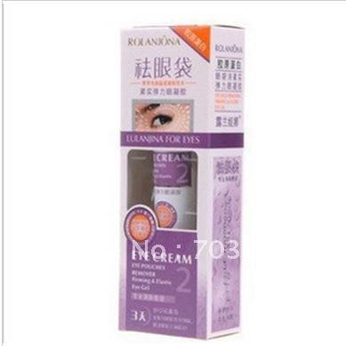 Contra genuína de Lan Jona remover bolsas sob os olhos, Firme e elástica eye gel, 3 dias profissional, Remoção de inchaço dos olhos