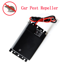 Car Mounted Ultrasonic Speaker Mice Rat Rodents Martens Pest Repeller Control for Car House Garage(China (Mainland))