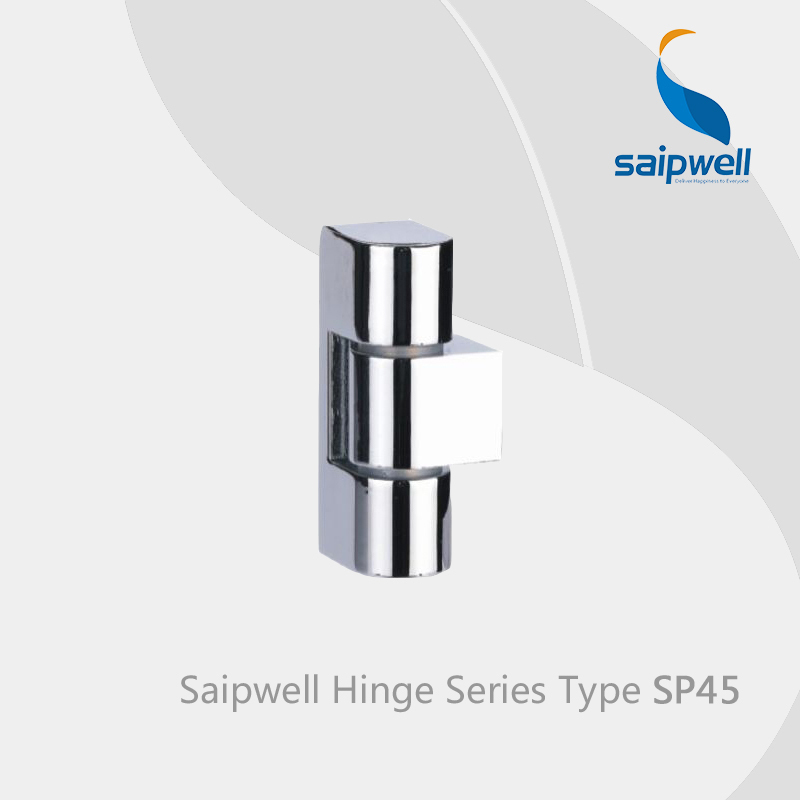 Saipwell SP45 hidden hinges for steel doors kitchen cabinet hardware hinges bathroom vanity mirror hinges 10 Pcs in a Pack(China (Mainland))