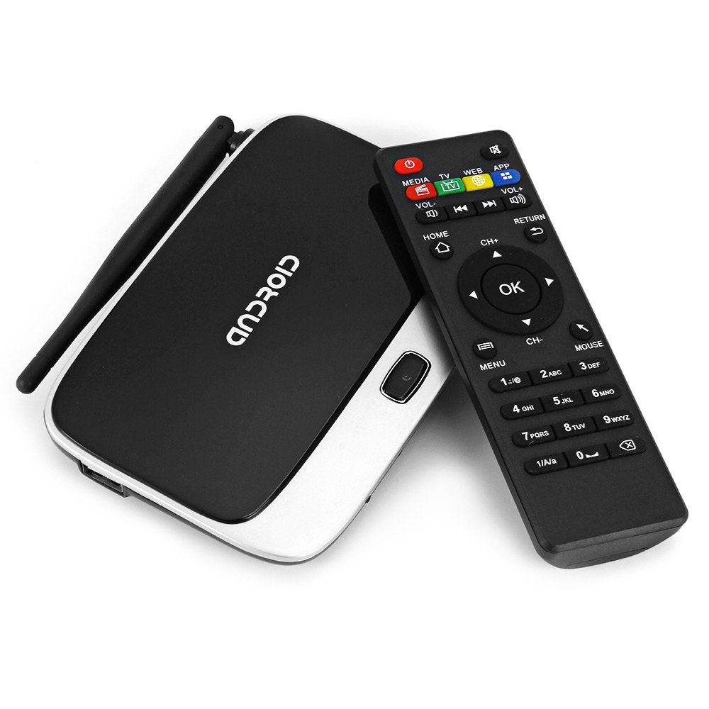 TOPS CS918 - Q7 TV Box Cortex A9 Quad Core Android 4.4 RK3188 Quad Core Mini PC WiFi Bluetooth HDMI Connectivity With AV Input(China (Mainland))