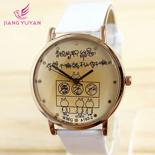 Watches Cartoon Cute Fashion women s Watch Lovers Vintage Lady Dropship Wholesale