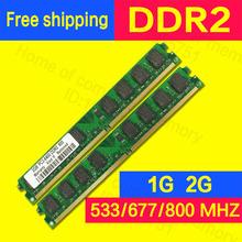Brand New Sealed ddr2 1gb/2gb 800mhz/667mhz/533mhz pc2-6400 for Desktop intel RAM memory pc2-5300 sdram  ddr2 2gb ram sodimm