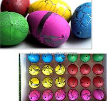Novel  20Pcs small Cute Magic Growing Dino Egg Hatching Dinosaur Add Water Eggs Child Toy Gift(China (Mainland))