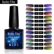 Buy 24 Colors 10ml Soak Chameleon Powder Gel UV Led Polish Gel Nail Chamelon Bling Colorful Nail Art Gel Ultra Fine Nail Glitter for $2.95 in AliExpress store