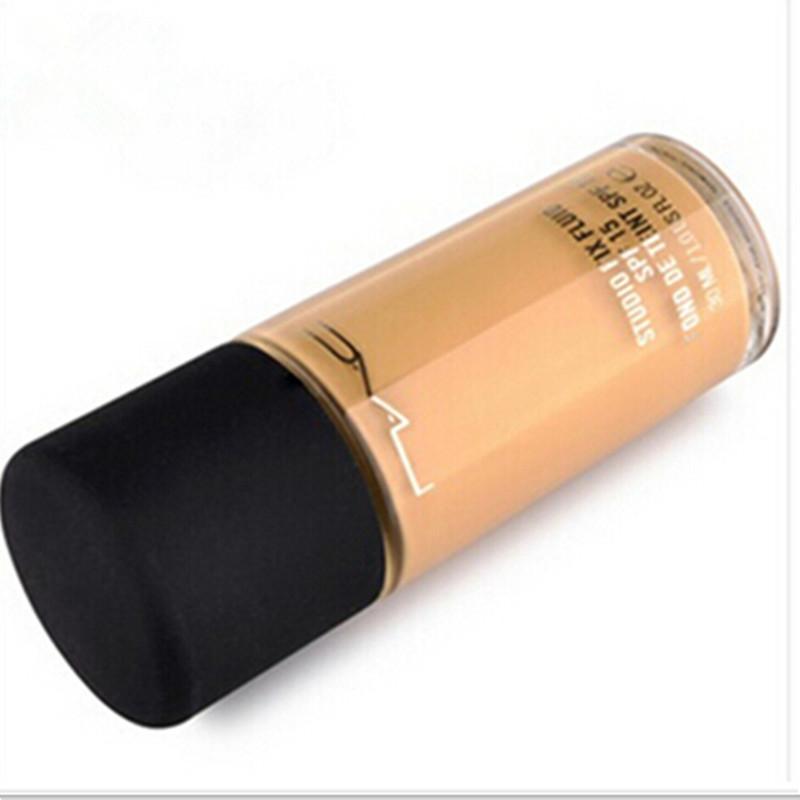 Brand 30ml Makeup Liquid Foundation STUDIO FIX FLUID SPF15 Foundation With Pump NC15-40 Mineralize Moisture Base maquiagem(China (Mainland))