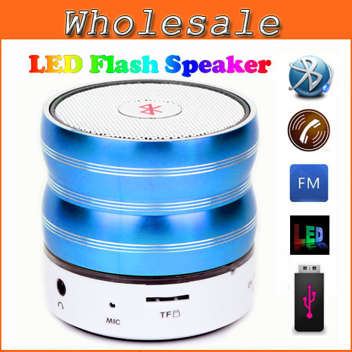 2015 Hot New Wireless Bluetooth Speaker TF AUX USB FM Radio with Built-in Mic Hands-free Portable MP3 Mini Subwoofer Retail Box(China (Mainland))