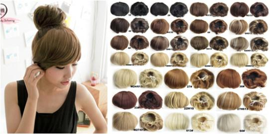2015 Limited Wig Cabelo Coque New Arrival Women Hair Bun Donut Hairpieces Synthetic Clip In On Extension Fake False Buns Pad For(China (Mainland))