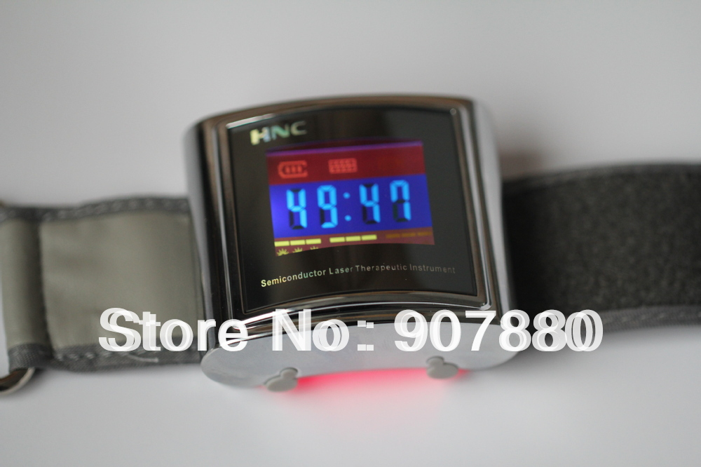 cholesterol diabetes sugar reduced portable free shipping popular cold laser soft laser low level laser therapy product(China (Mainland))
