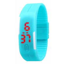 Fashion Sport LED Watches Silicone Rubber Touch Screen Digital Watches Men Women Waterproof Bracelet Wristwatch Y60*MPJ760#M6