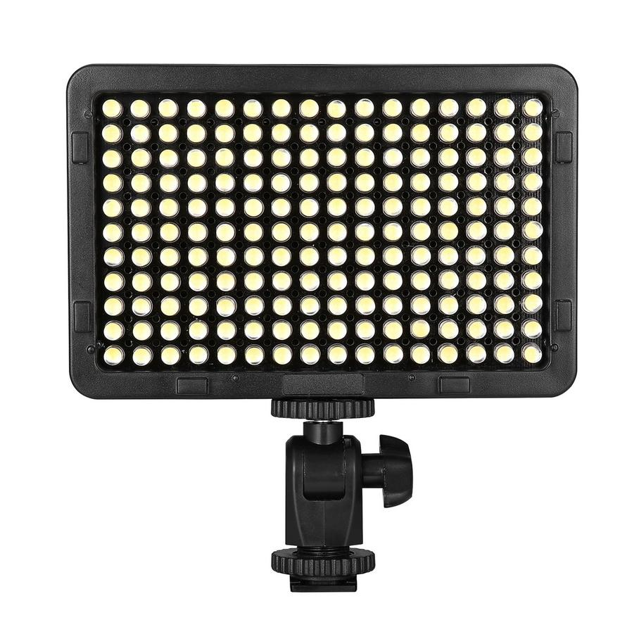 EACHSHOT PT-176S 176 LED Ultra Bright 5500K Dimmable On Camera Video Light for Canon Nikon Pentax Panasonic Sony DSLR Cameras<br><br>Aliexpress