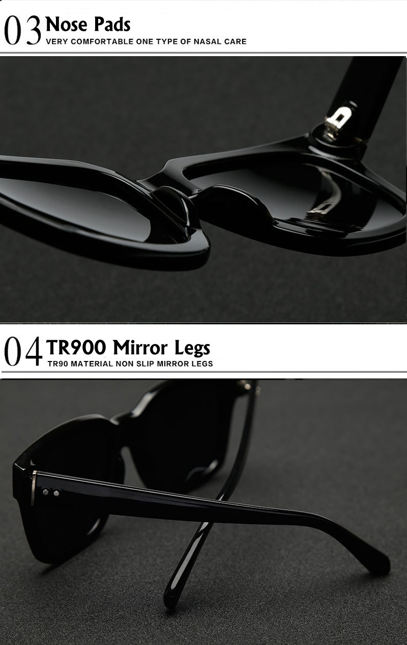 BEOLOWT women's men's UV400 Polarized Sunglasses Driving  Alloy Sun Glasses for women men with Case Box  BL485