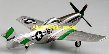 [Alice plastic model]1:72 WWII US P-51D mustang IV fighter Torpedo bomber vintage three-wing aircraft biplane army models