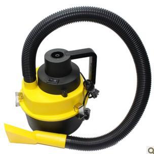 Free shipping Car high power vacuum cleaner multifunctional vacuum cleaner drum mini small vacuum cleaner(China (Mainland))