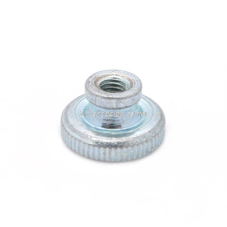 3D Printer Parts Wholesale 50pcs/lot Decorative Cap Nuts 3D Printer kit Press Nuts Heating Bed Adjustment Screw Nut M3(China (Mainland))