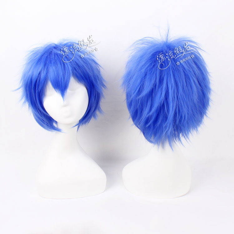 Гаджет  Cosplay wig V home eldest brother light blue reverse become warped high temperature wire  cos wigs blue None Изготовление под заказ