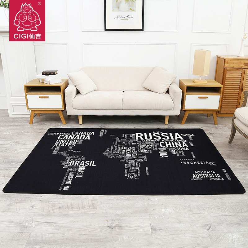CIGI Letters Design Finished Carpet Creative Home Nylon Rugs Bedroom Living Room Floor Decoration Kitchen