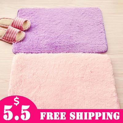 2015 Absorbent Bath Outdoor Door Mats Kitchen Carpet Washable Microfiber Velvet Door Mat Floor Rug For Living Room #PR240(China (Mainland))