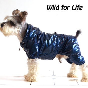 Raincoat Double PVC Waterproof Layers Rain Jacket Costume for Cats and Small Dogs