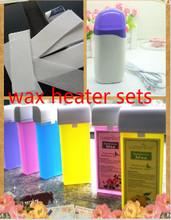 3 pcs wax set Roll On Hot Depilatory Wax Cartridge Heater Epilator Hair Removal Tools 100g(China (Mainland))