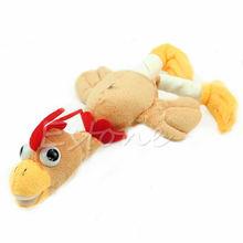 New Arrive Monkey Flying Slingshot Flying Plush Chicken Duck Screaming Novelty Fun Toys Kids(China (Mainland))