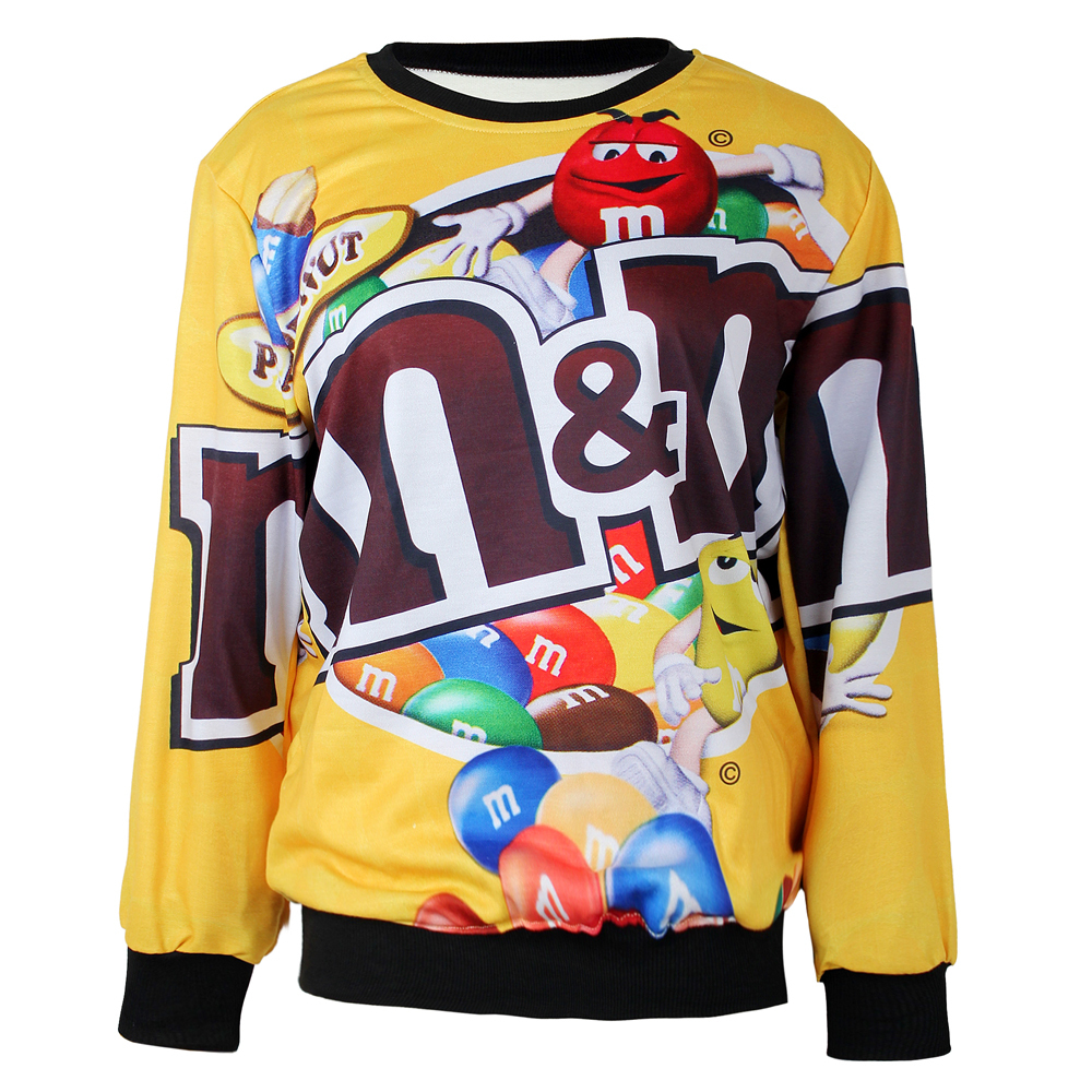 fashion m m s chocolate pattern pullover sweater