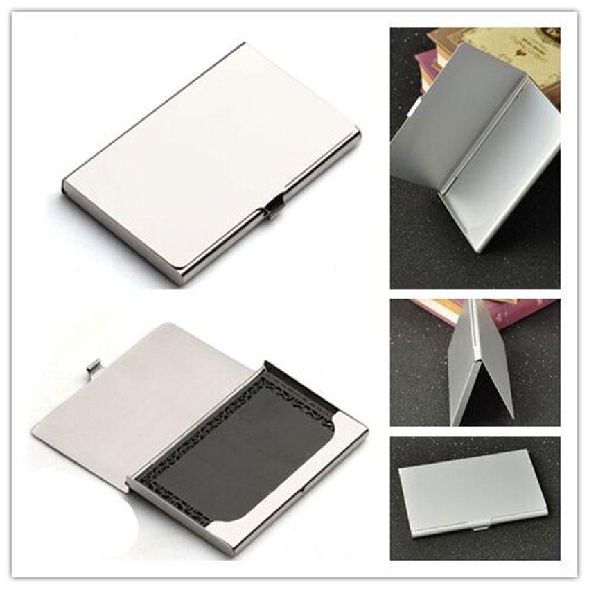 Гаджет  1 pc Credit ID Business Card Holder Box Metal Wallet Purse Organizer Portable None Офисные и Школьные принадлежности