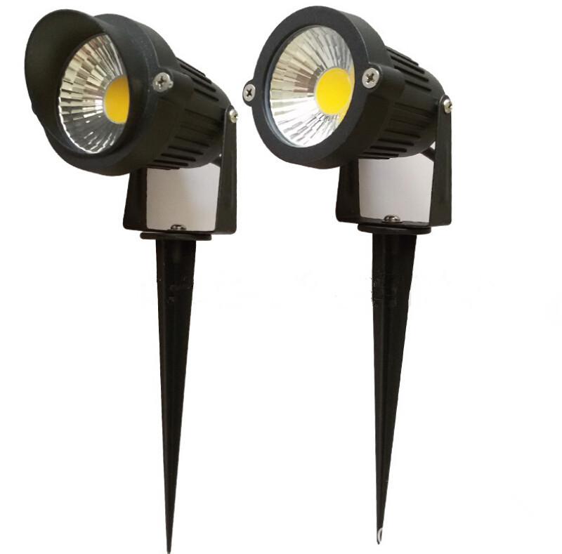 Led Outdoor Spike Light: 10pcs IP65 Outdoor Landscape LED Lawn Light Lamp 220V 110V