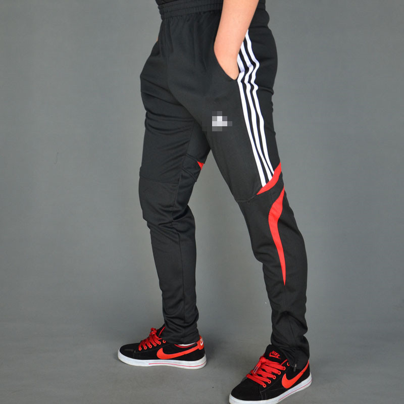 2015 new Men soccer training pants football sport sweatpants Gym skinny joggers Men's harem pants pantalones deporte(China (Mainland))