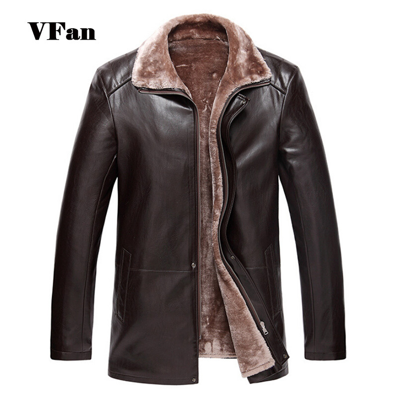 2015 New Arrival PU Leather Men Fashion Jackets Turn-down Collar Man Casual Outerwear Windproof Warm Coats Z1607