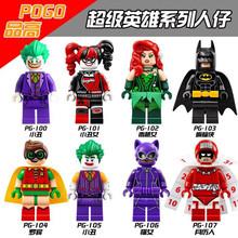 Buy Harley Quinn Joker Batman Catwoman Robin Poison Ivy Calendar People Super Heroes Figures Building Blocks Kids Toys for $6.90 in AliExpress store
