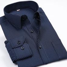 Fashion New 2016 Men Shirts Male Striped Formal Dress Shirt  Long Sleeve Mens Brand Casual Shirts Plus Big Size US Size 5XL 6XL(China (Mainland))