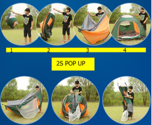 New easy take automatic pop up backpacking tent for tourist 3-4 person light weight outdoor camping tents for travel