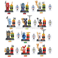 Wholesale Lele78024 Plastic Building Blocks Sets Minifigures DIY Ninja Mini Figures Bricks Toys Decool Compatible