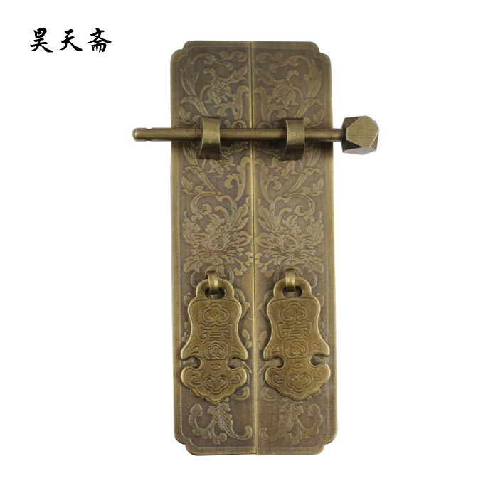 Antique furniture, antique copper door bookcase to pull large numbers of Panzhihua hands HTC281(China (Mainland))