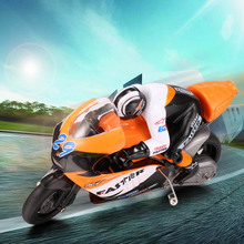 JXD 806 Rc motorcycle Radio Control 1 / 10 Scale with LED Light Stunt Drift Motorcycles Boys Electric Fun Toy As Gift BD(China (Mainland))