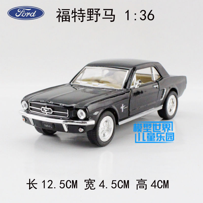1:36 Ford 1964 Mustang Vintage Alloy Diecast Car Model Toy Vehicles Gift B2928(China (Mainland))