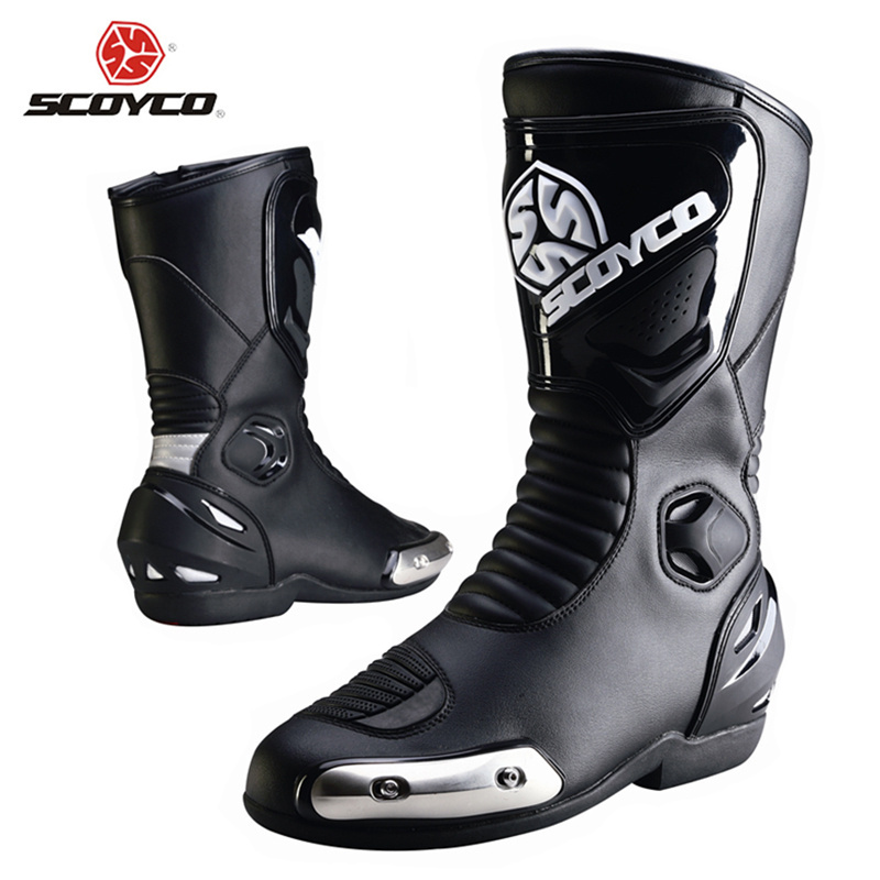 SCOYCO Professional Motorcycle Motorcross Touring Boot Breathable Off-Road Riding Knee-High Boots Protective Gear Racing Shoes <br><br>Aliexpress