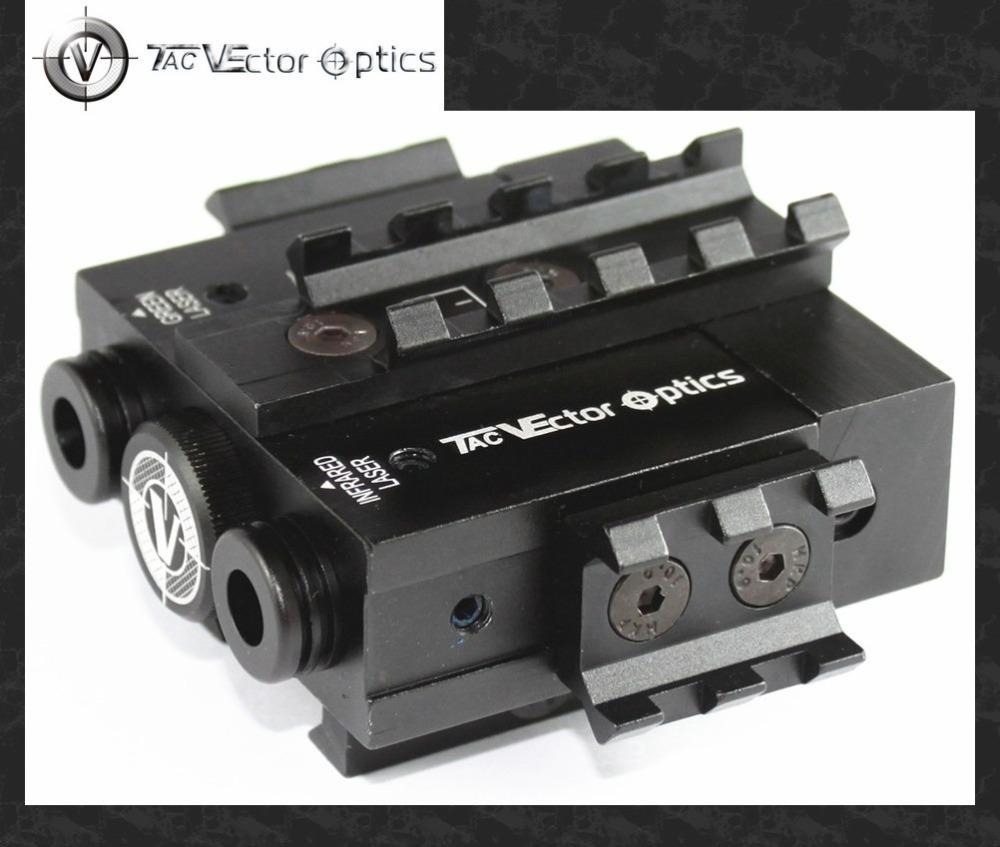Vector Optics Viperwolf Tactical 532nM Green Laser & 850nM Invisible Infrared IR Laser Designator Combo Sight fit Night Vision(China (Mainland))