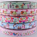 22mm New Grosgrain Ribbon Printed Despicable Me DIY Crafts Appliques