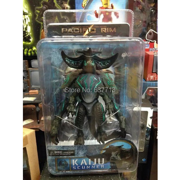 """Pacific Rim Kaiju Scunner PVC Action Figure Collectible Model Toy 7"""" 18CM(China (Mainland))"""