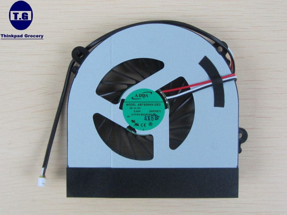 New For Clevo W150 W150er CPU Cooling Fan AB7905HX-DE3 6-31-W370S-101(China (Mainland))