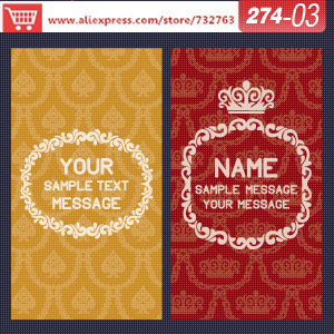 0274-03 business card template for the paper mill shop medical business cards name card creator(China (Mainland))