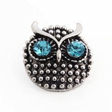 Buy 10pcs/lot DIY 18mm Jewelry Metal Owl Snaps Button Charms Fit 18mm & 20mm Snaps Bracelet & Bangle ) for $9.41 in AliExpress store