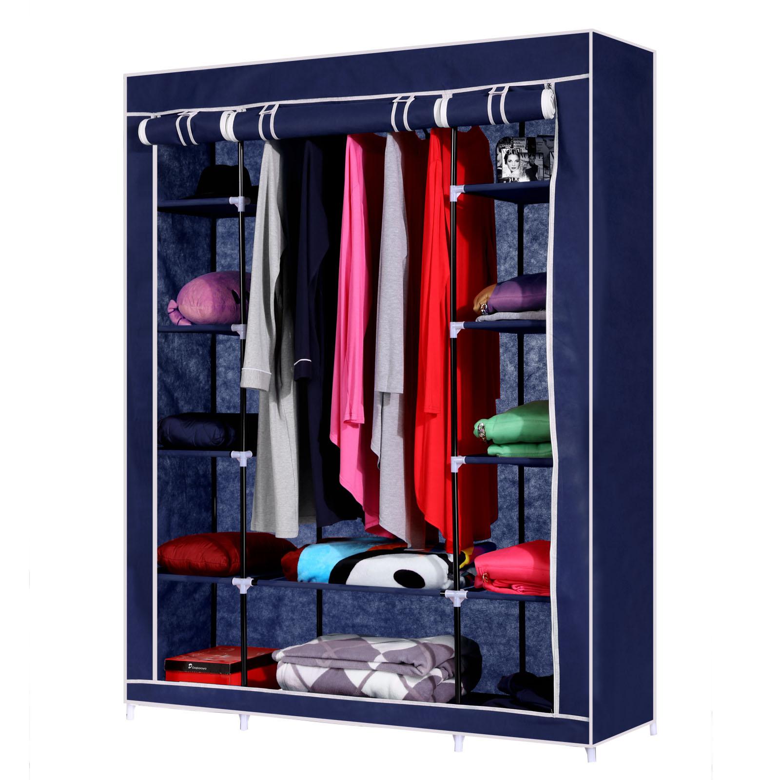 Homdox Bedroom Furniture Folding Cloth Wardrobe Portable Clothes Closet Cloth Cabinet Large Capacity Wardrobes(China (Mainland))
