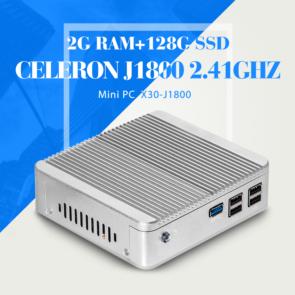 N2830 N2930 J1800 2G RAM 128G SSD WIFI Desktop Computer Thin Client Support Hd Video Smallest Computer Tablet Support VGA/HDMI(China (Mainland))