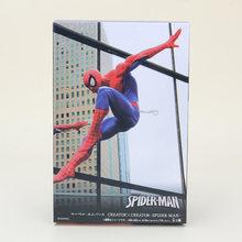 Criador X Criador Deadpool Figura Brinquedo Amazing Spiderman Homem De Ferro Os vingadores Super Herói homem Aranha Figura de Ação DO PVC Brinquedos(China)
