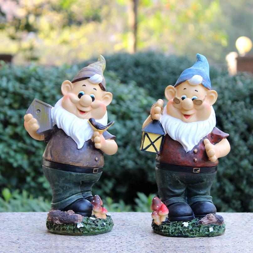 Здесь можно купить  handmade vintage free resin garden gnomes for sale poly resin figurines garden decorations  Дом и Сад
