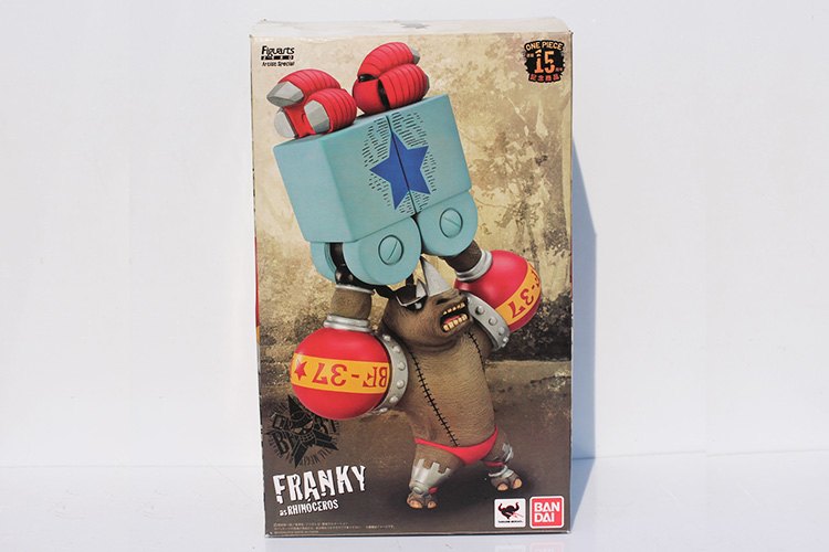 Anime Cartoon One Piece franky determine Two Years Later Motion Figures PVC Mannequin Assortment Toys New World Franky 35cm